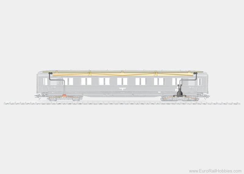 Marklin 73150 LIGHTING KIT F/SKIRTED CARS 96