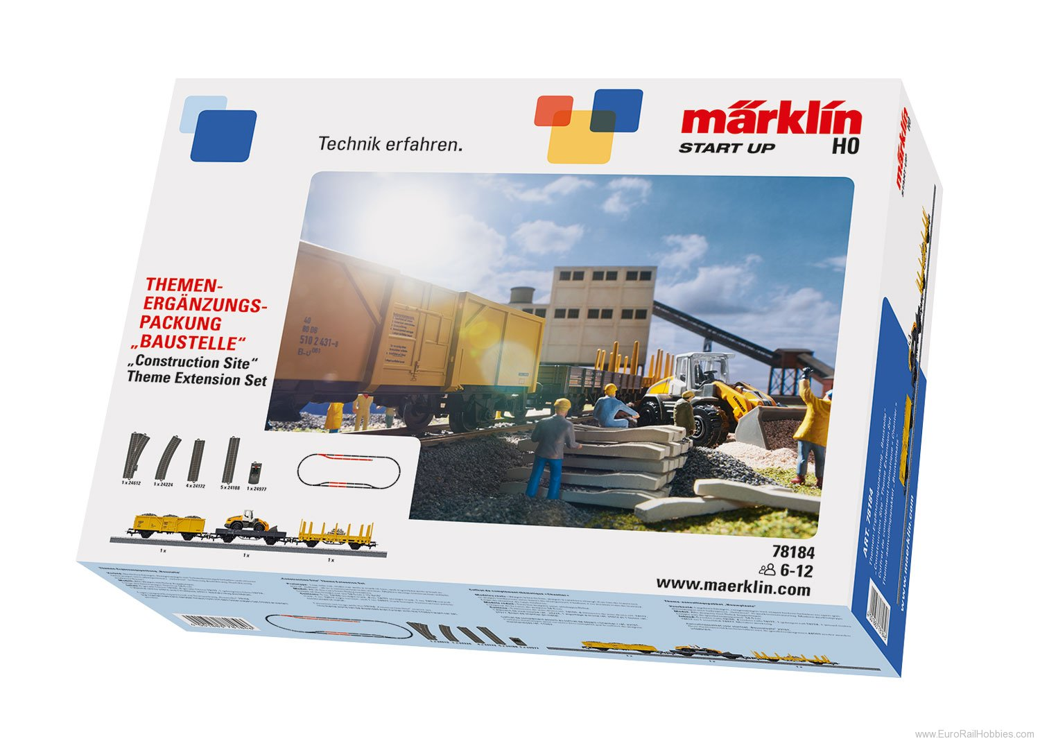 Marklin 78184 'Construction Site' Theme Extension Set (Star