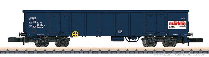 Marklin 80826 Marklin Magazin Z Gauge Annual Car for 2016