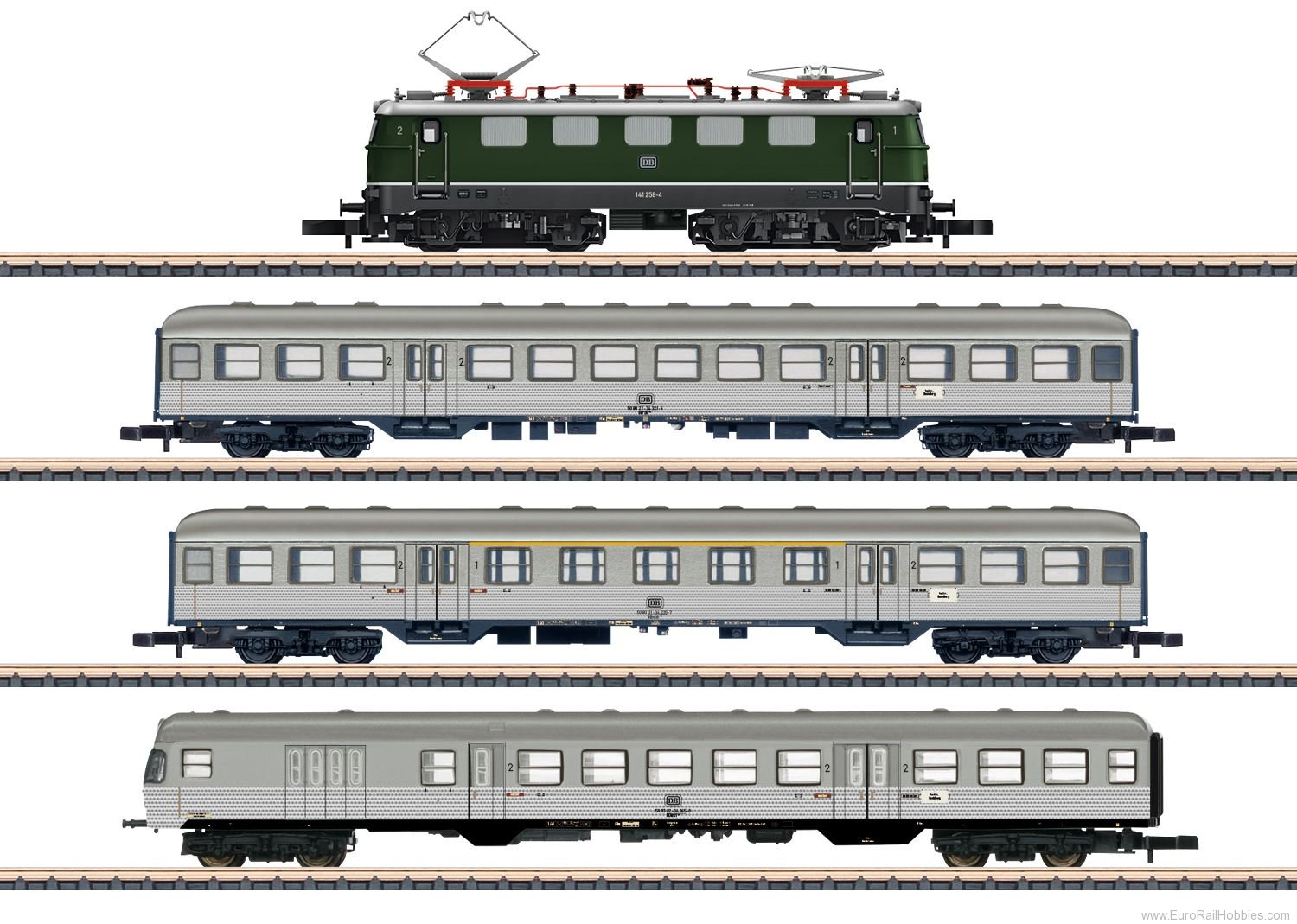 Marklin 81356 DB 'Commuter Service' Train Set,  MHI Exclusi