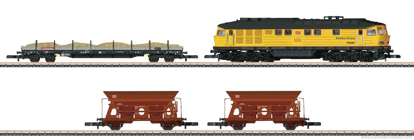 Marklin 81451 DB Construction Train Set for Track Construct