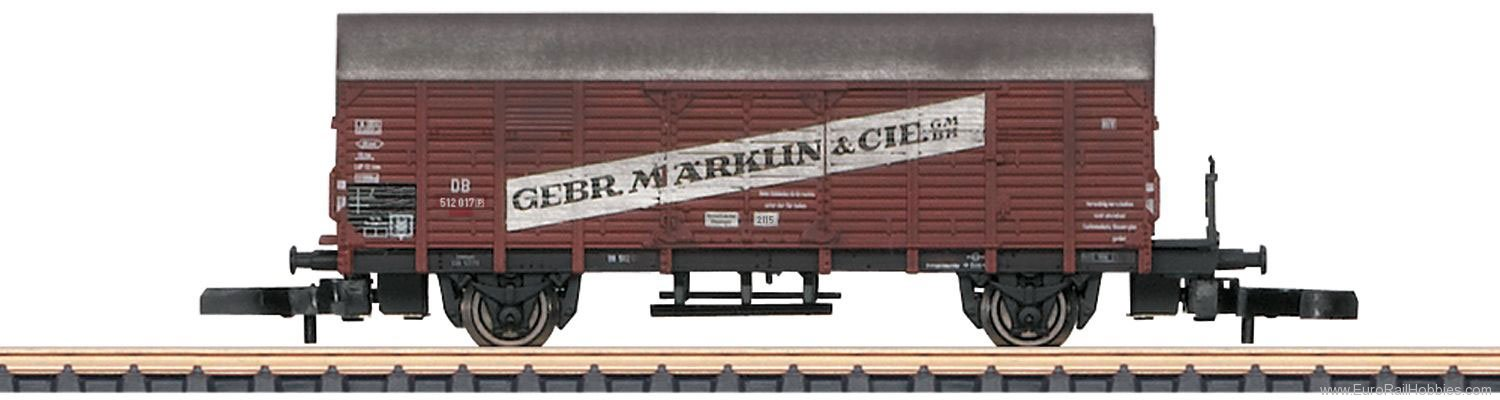 Marklin 82267 Type Gl Dresden Boxcar mit the Advertising Le
