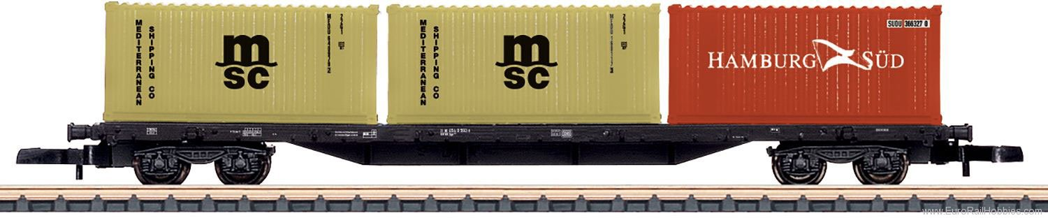 Marklin 82662 DB Type Sgs 693 Four-Axle Container Transport