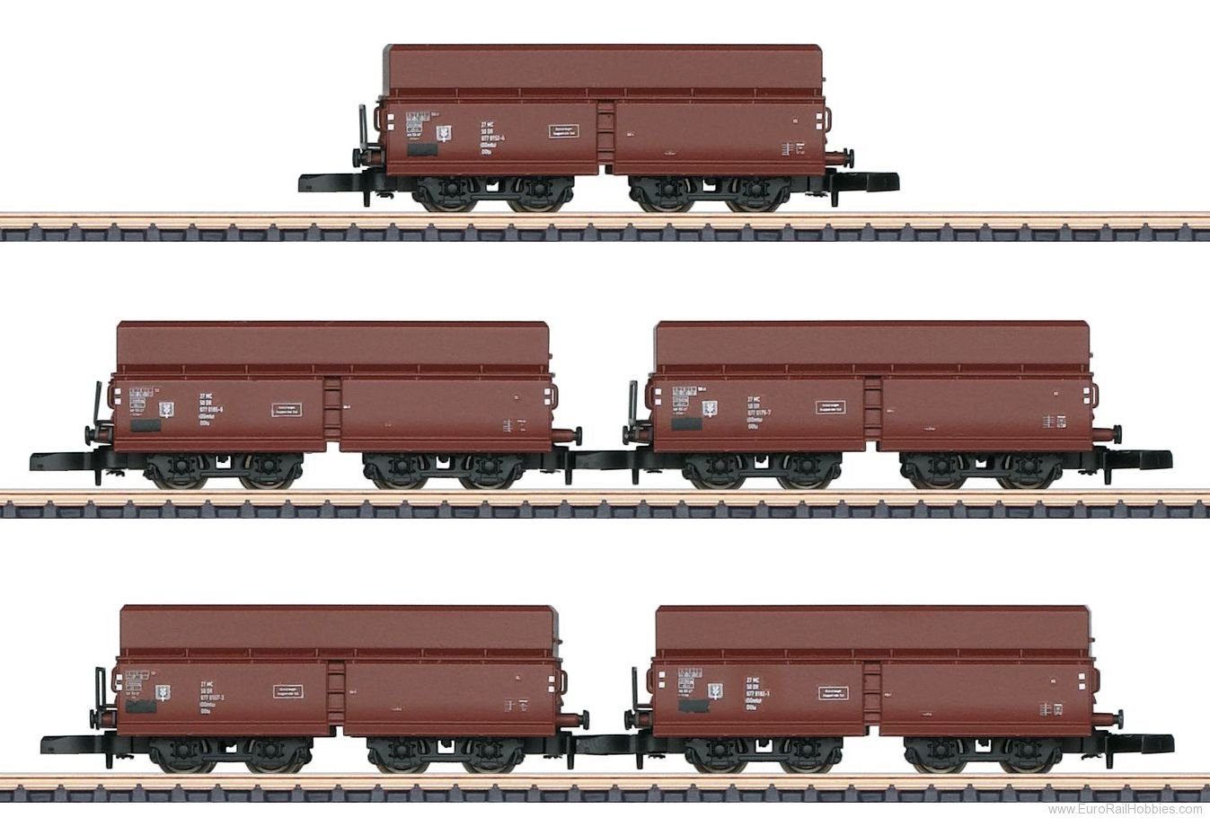 Marklin 82802 'DR' Hopper Car Set