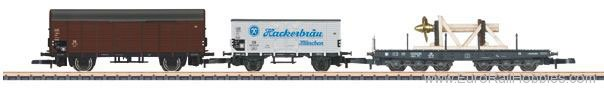 Marklin 86582 DB Freight 3-Car Set, theme of Ship's Equipme