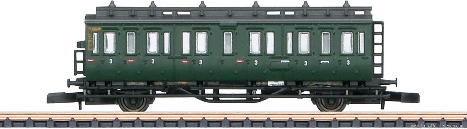 Marklin 87040 DB Passenger 4-Car Set