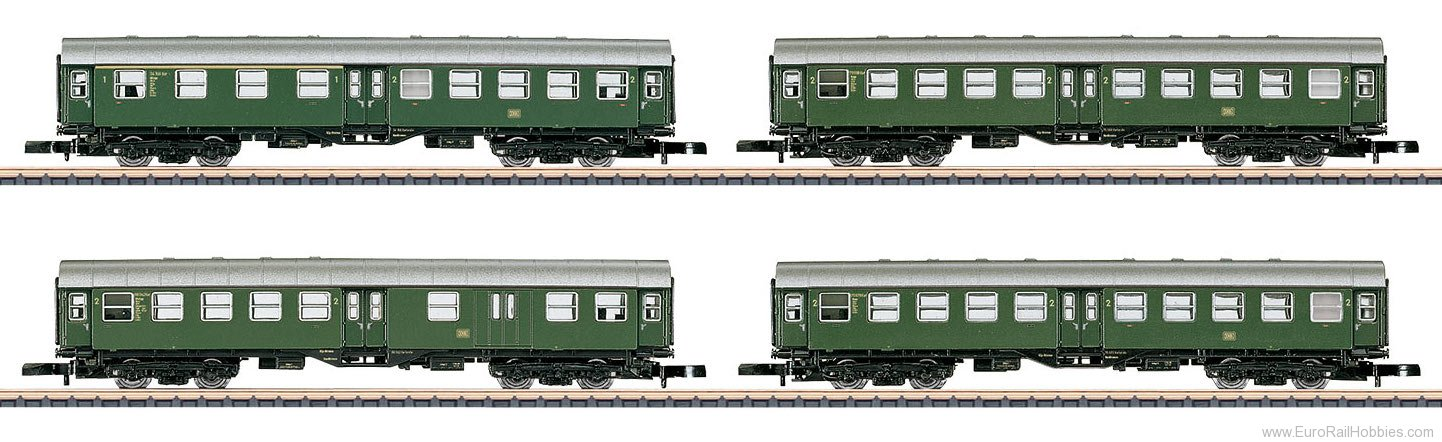 Marklin 87530 DB Commuter Train Set Consisting of 4-Axle Um