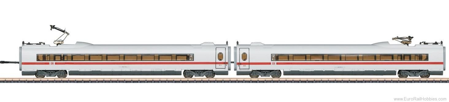 Marklin 87716 DB ICE 3 406 MF Add-On Car Set 2 (w/Lighting)