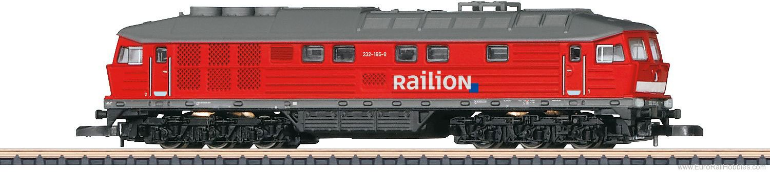 Marklin 88135 'Railion' cl 232 Heavy Diesel Locomotive