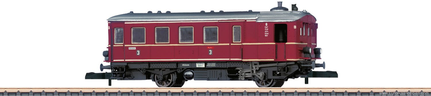 Marklin 88145 Class Kittel CidT 8 Steam-Powered Rail Car -