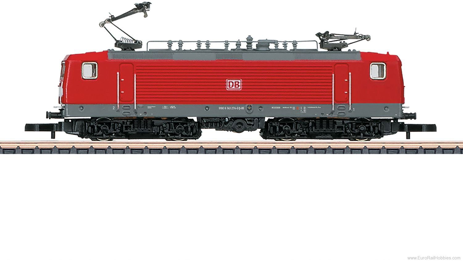 Marklin 88437 DB AG cl 143 Electric Locomotive