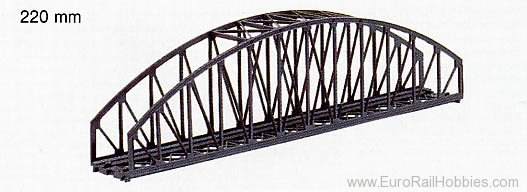 Marklin 8975 Z ARCHED BRIDGE 8-5/8
