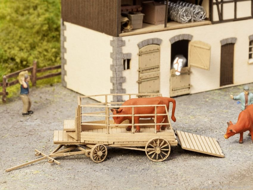 Noch 14245 Cattle Transport Vehicle (without figures)