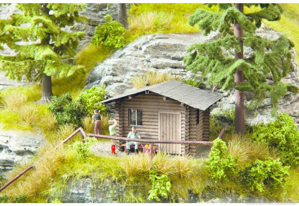 Noch 14434 Laser-Cut minis - Forest Lodge 4.7 x 3.7 cm,