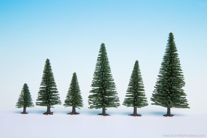 Noch 26822 Model Fir Trees, extra large, 10 pcs., 16 - 1