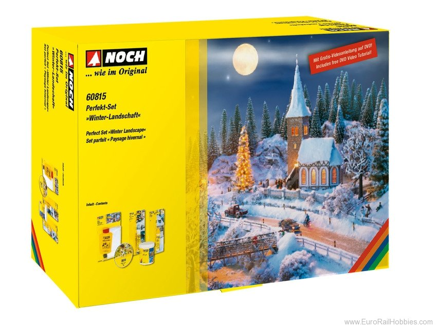 "Noch 60815 Perfect Set ""Winter Landscape"""