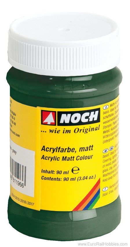 Noch 61195 Acrylic Color Dark Green, matt, 90 ml