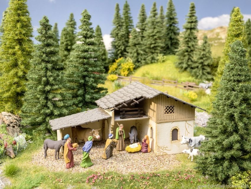 Noch 65620 Scenery Set Christmas Crib