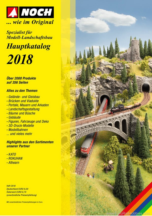 Noch 71180 2018 NOCH Full Line Catalog - German Only