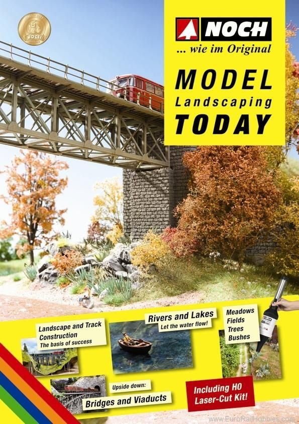 Noch 71908 Model Landscaping Today' Guidebook - German E