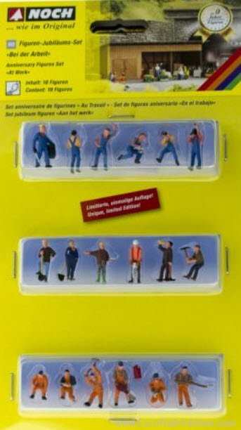 Noch 75135B Noch HO Anniversary Figues Set - 'At Work' (F