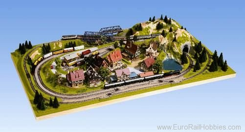 Noch 84810 Layout 'Traunstein', incl. Bridges, 125x69x18