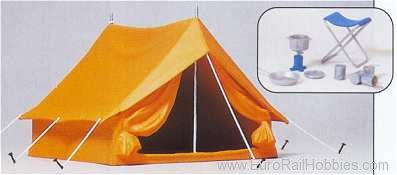 Preiser 45215 Recreation -- Camping Tent