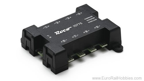 Roco 10775 Turnout decoder in NMRA DCC format for up to