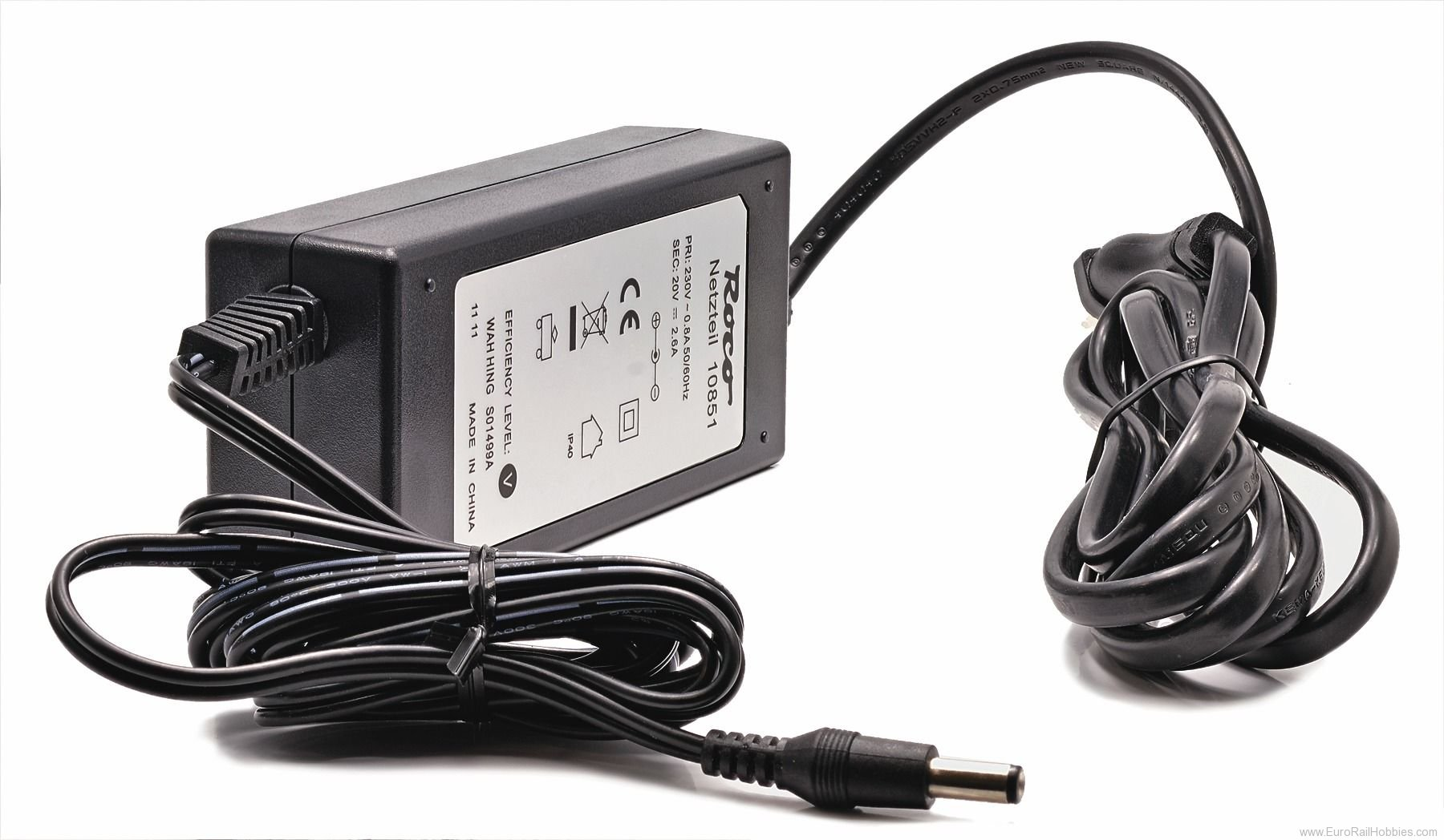 Roco 10851 Digital Switch Power Supply (230V - 54VA)