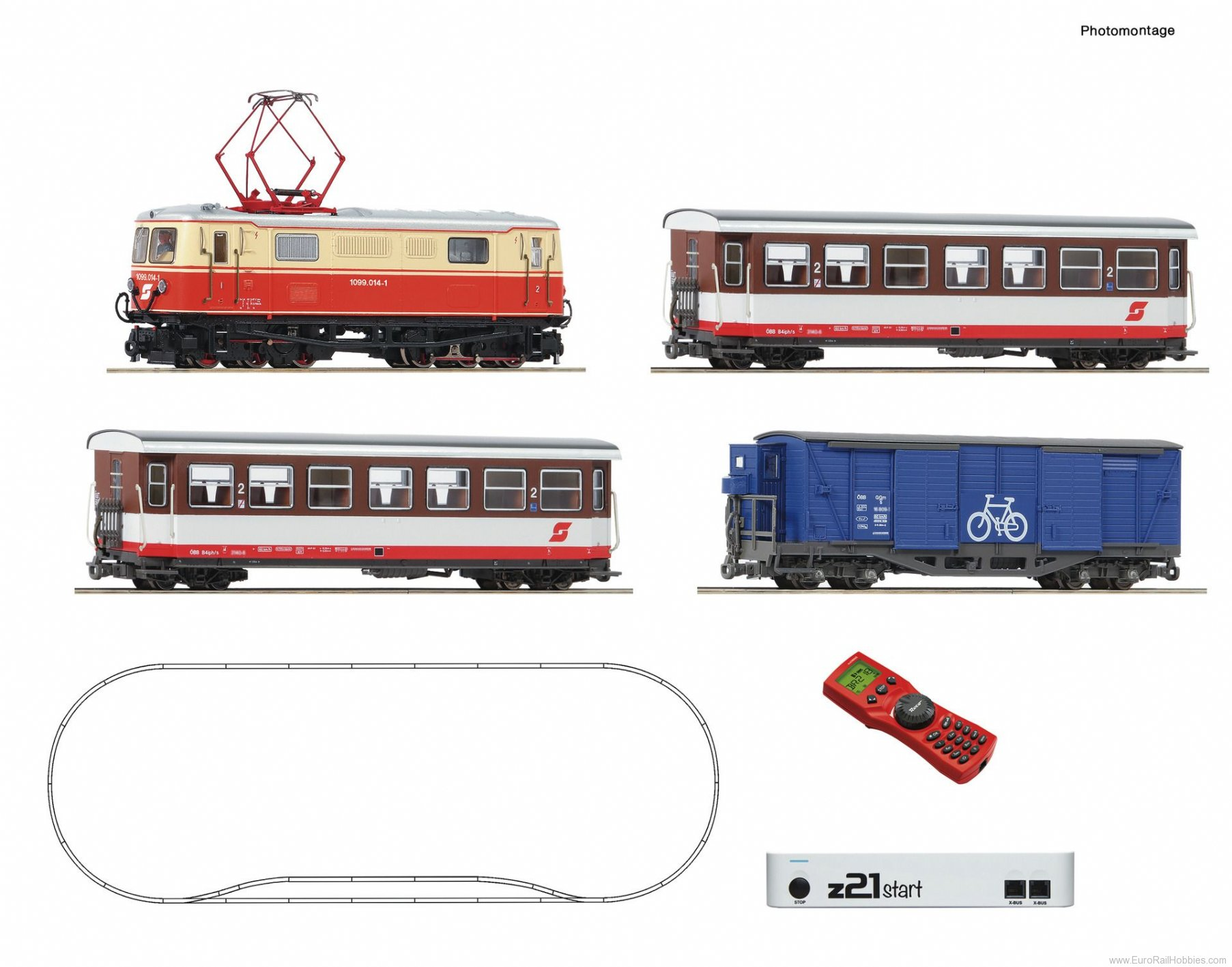 Roco 31033 z21®start Digitalset: Electric locomotive