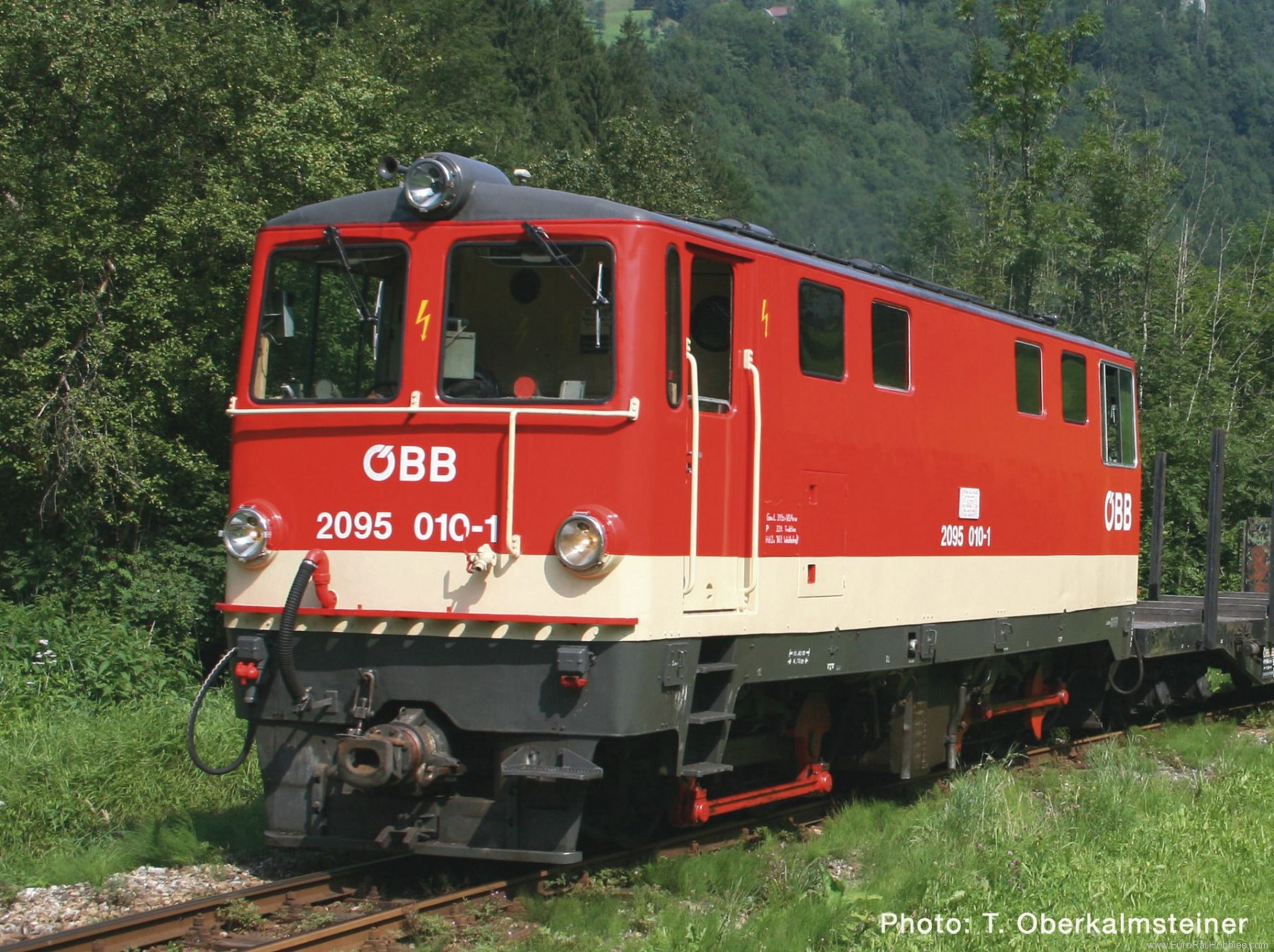 Roco 33293 OBB Diesel locomotive 2095 010 (Digital Sound