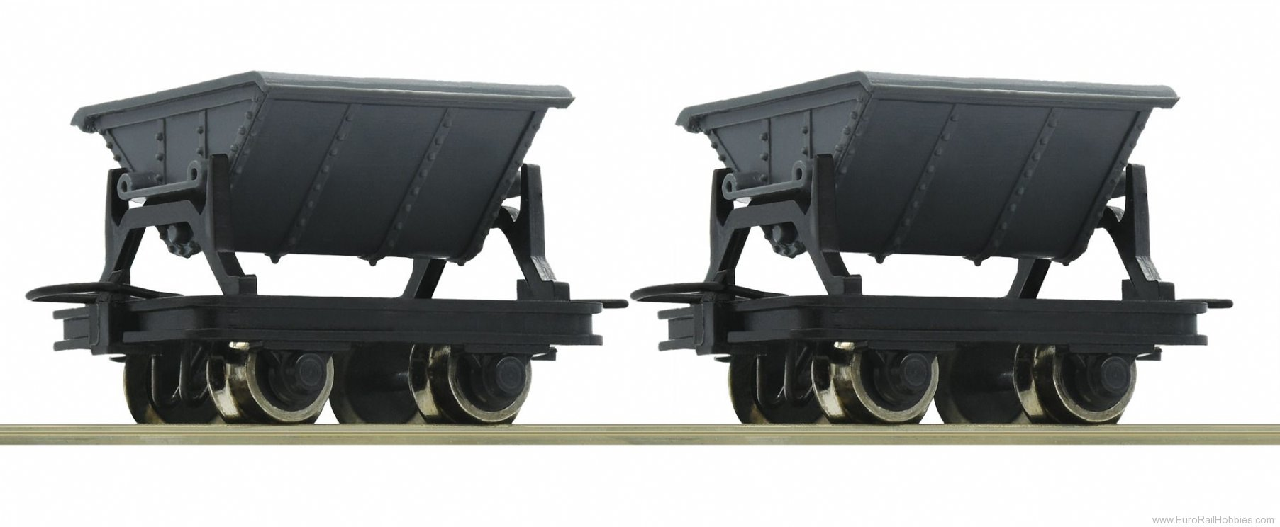 Roco 34600 2 Unit Tipping Truck Set