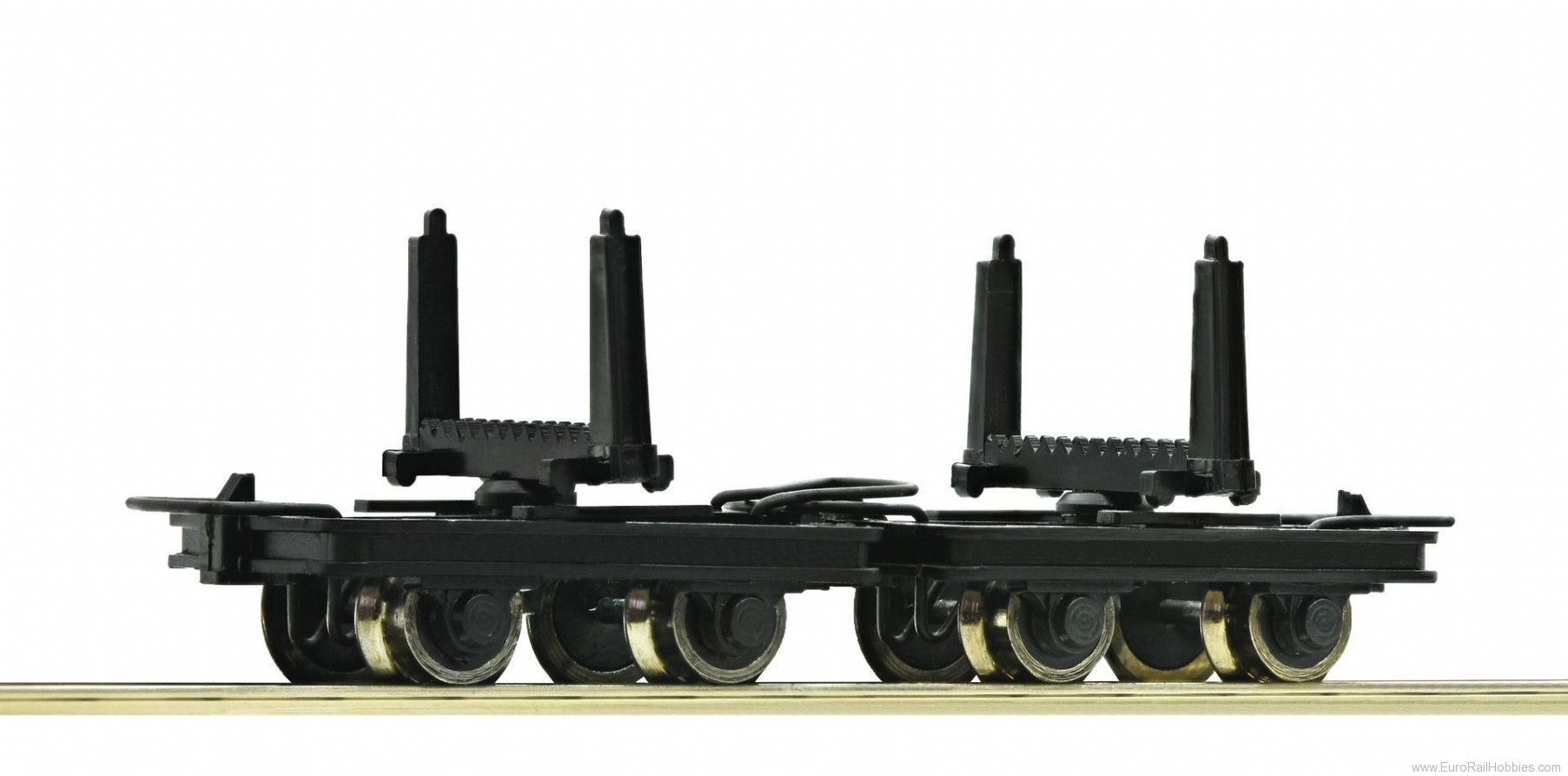 Roco 34602 2 Unit Pivoted Bolster Truck Set