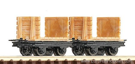 Roco 34604 2 Unit Coal Mine Truck Set