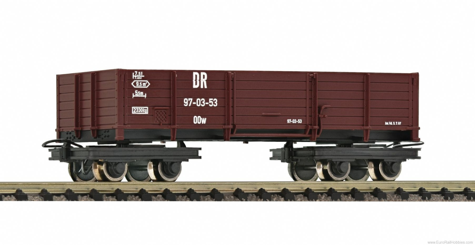Roco 34620 Open goods wagon, DR