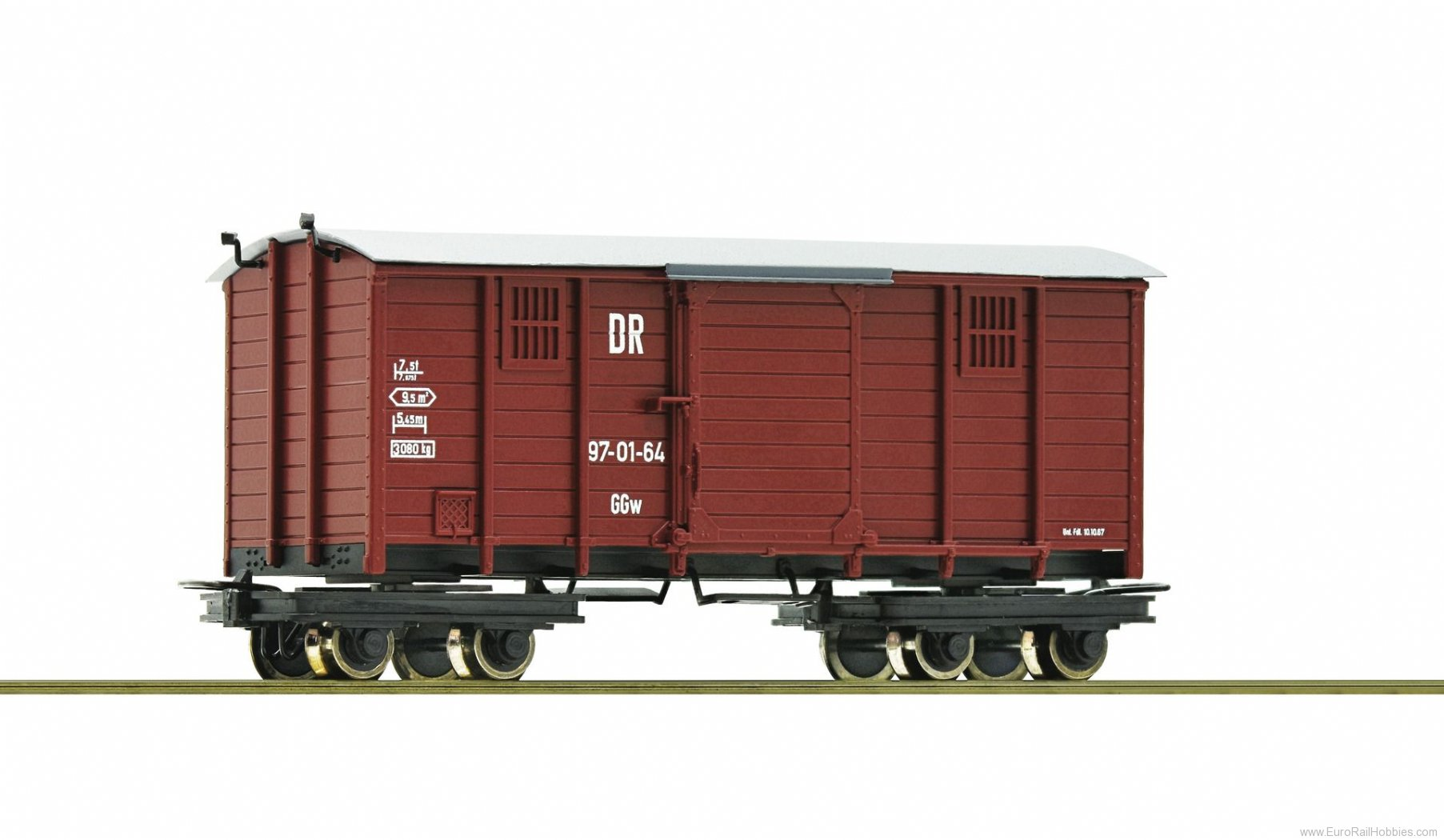 Roco 34622 Box goods wagon, DR