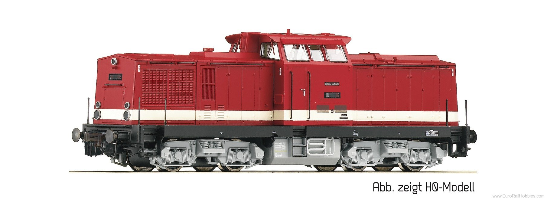 Roco 36300 Diesel locomotive series 110, DR