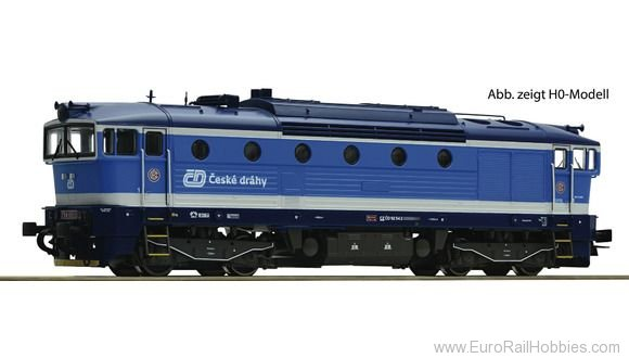 Roco 36400 Diesel locomotive series 754, CD