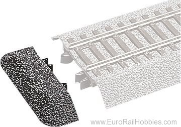 Roco 42651 Embankment end piece  (RocoLine with Track Be