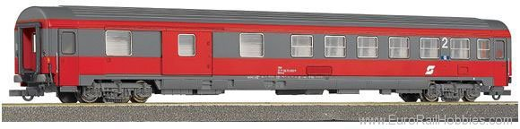 Roco 44648 2nd class passenger carriage with luggage com