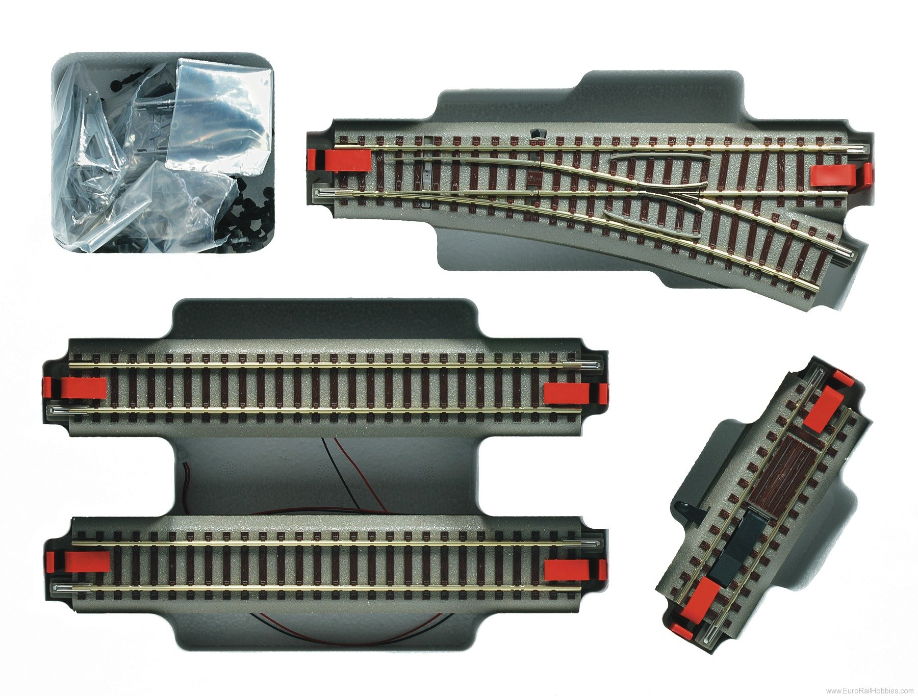 Roco 51251 Digital Track Extension Set (ideal for z21 DI