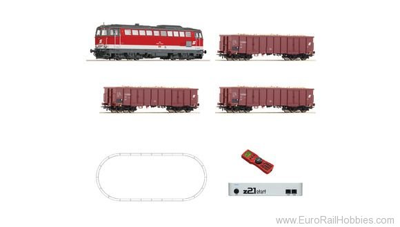 Roco 51291 Digital z21® start set: Diesel locomotive