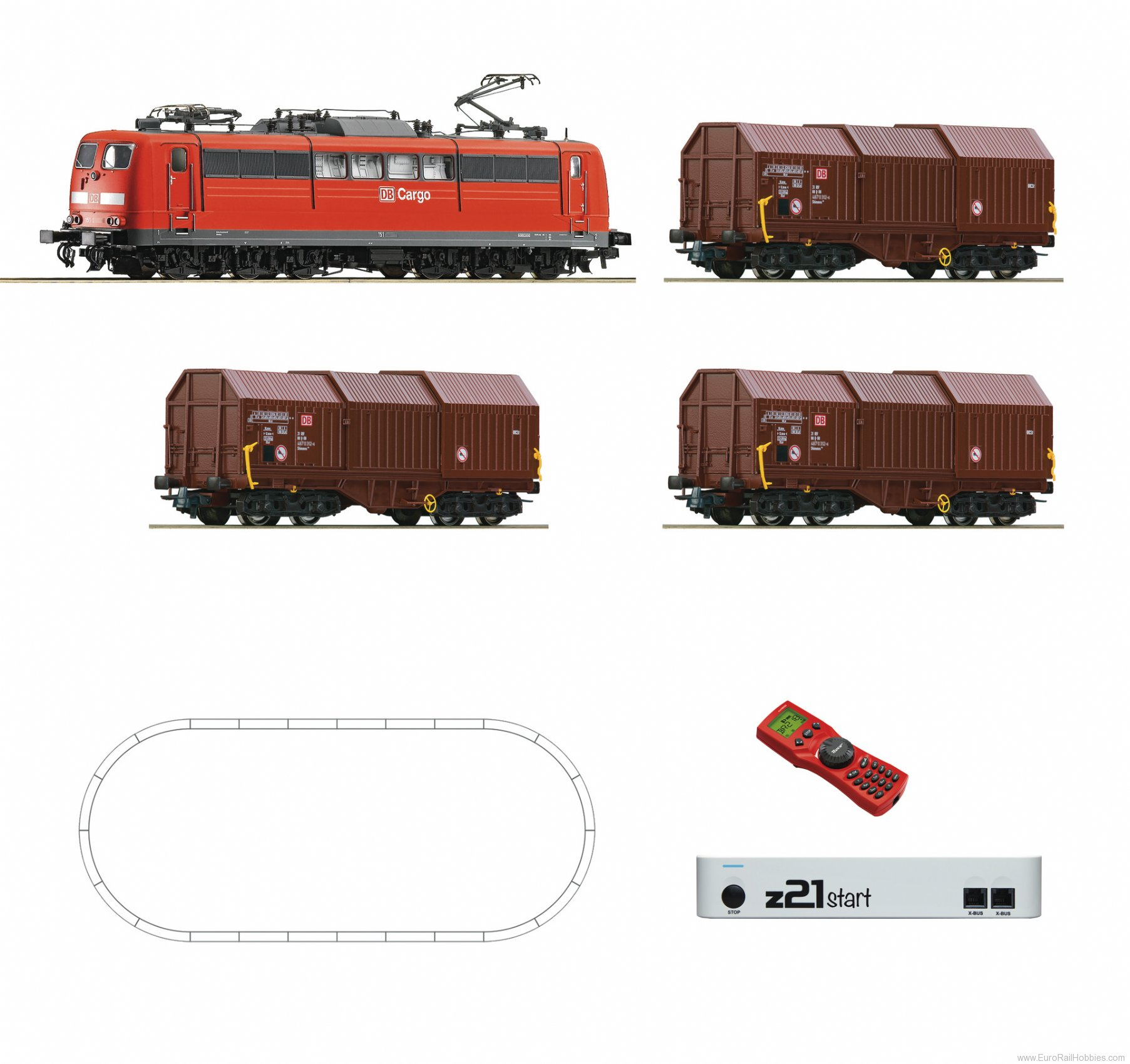 Roco 51293 Digital starter set z21: Electric locomotive