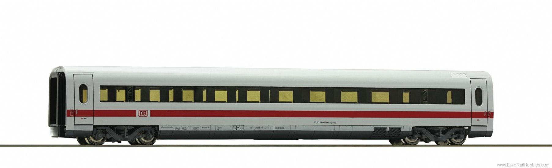 Roco 54271 2nd class ICE intermediate car, DB AG