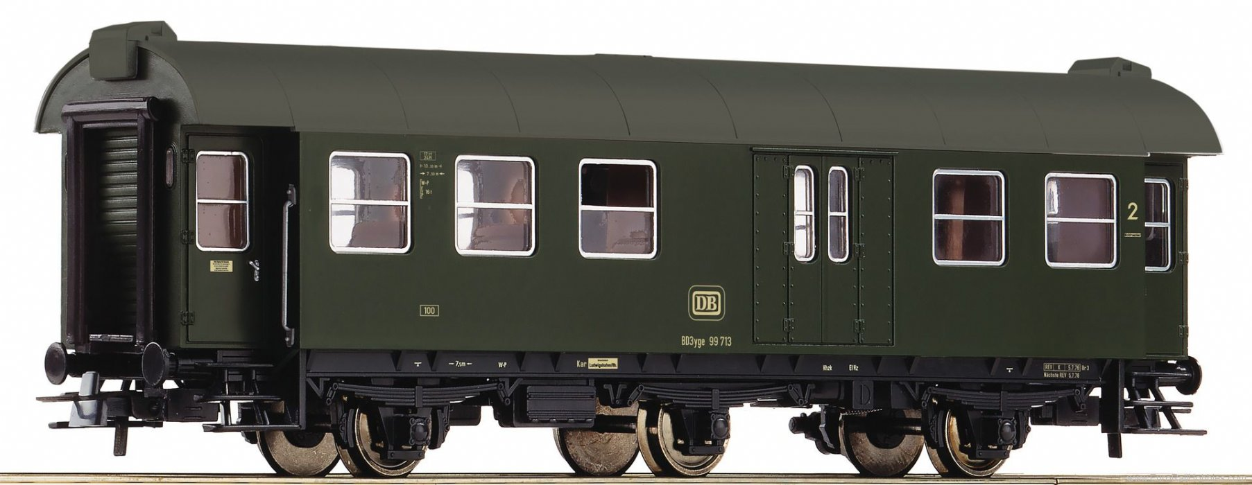 Roco 54293 2nd class passenger car with luggage compartm