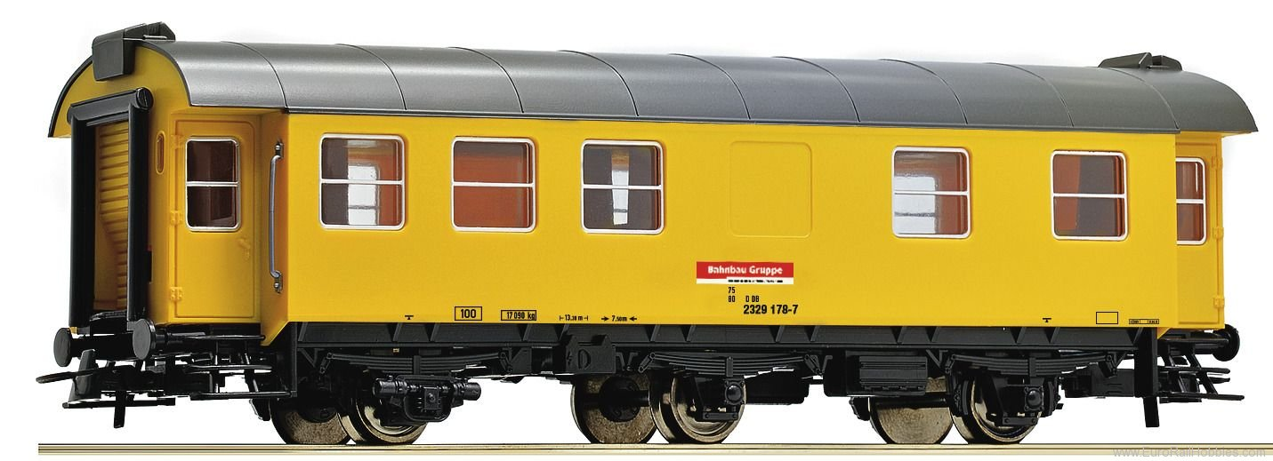 Roco 54294 Living and sleeping car for construction trai