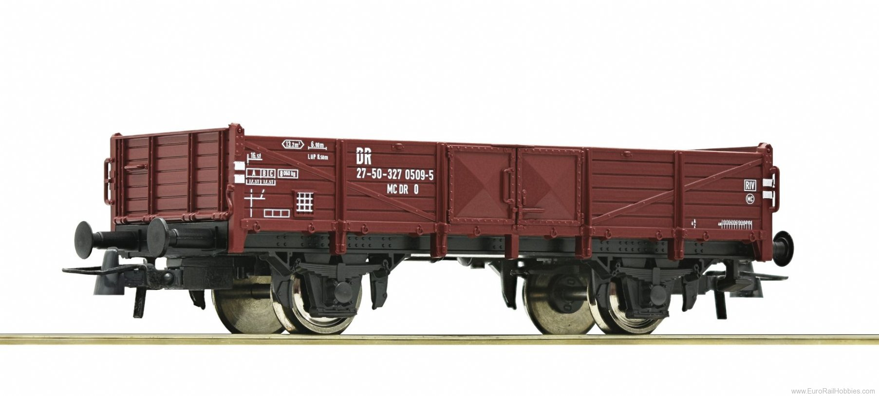 Roco 56017 Low loader end wagon, DR