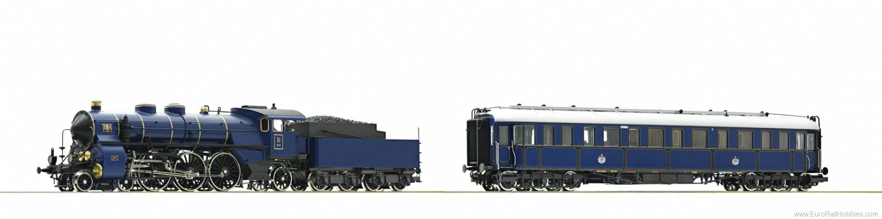 Roco 61473 2 piece set: Steam locomotive S 3/6 and Prinz