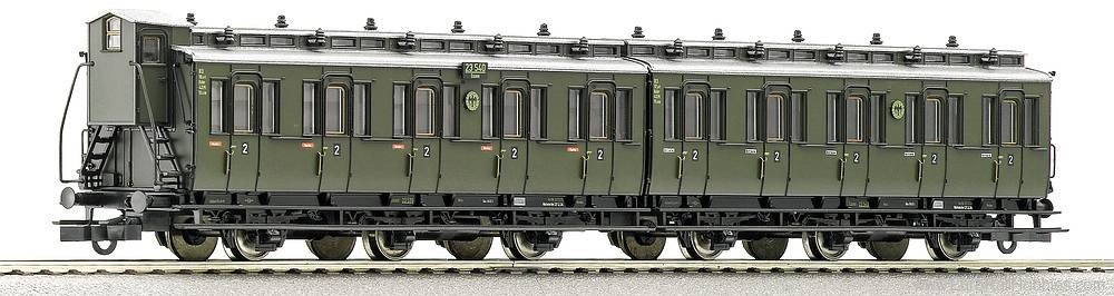 Roco 64016 DRG Compartment car 2nd class