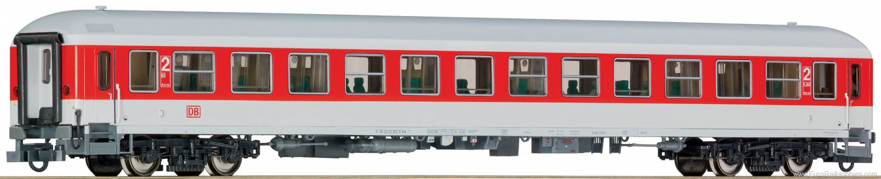 Roco 64422 DB AG Bimz Express Train Passenger car 2nd cl
